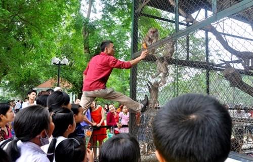 mất mạng vì thú dữ khi đi tham quan sở thú
