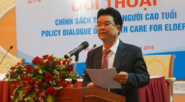 PGS.TS Phạm Lê Tuấn - Thứ trưởng Bộ Y tế phát biểu tại chương trình Đối thoại