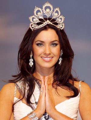Hoa hậu Hoàn vũ 2005: Natalie Glebova