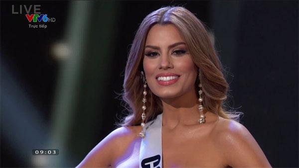 Người đẹp Colombia.
