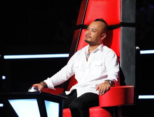 Trần Lập ngồi ghế nóng The Voice