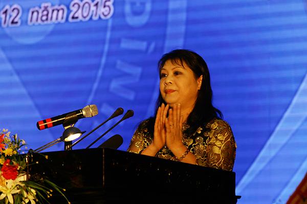 Bà Cao Thị Hải - Phó Chủ tịch UBND tỉnh Thái Bình