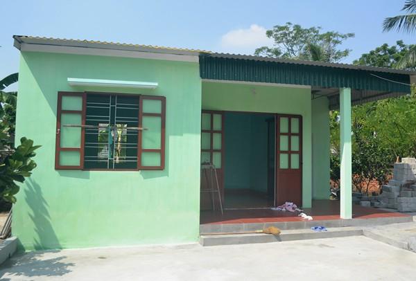 Căn nhà mới của cụ Quỳnh được hỗ trợ 40 triệu của Nhà nước