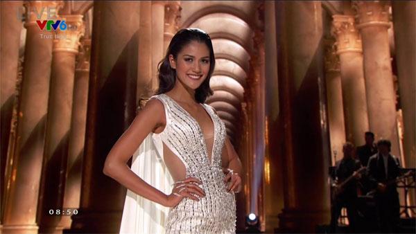 Hoa hậu Thái Lan quyến rũ trong trang phục dạ hội