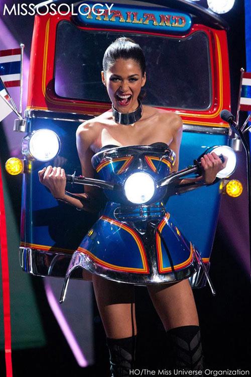 Trang phục dân tộc đẹp nhất Miss Universe 2015