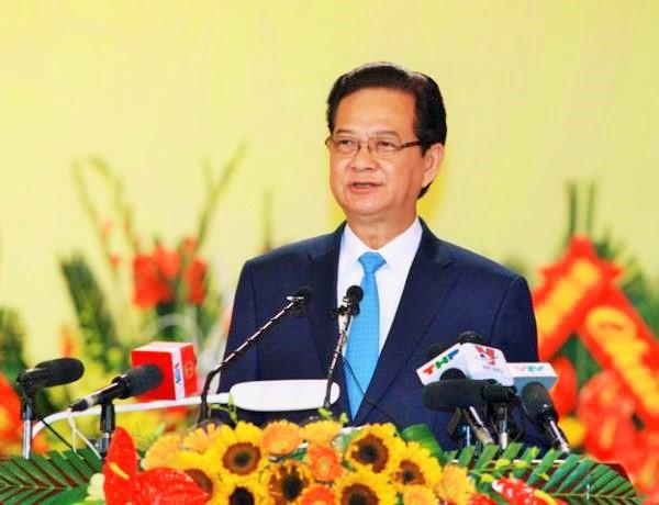 Thủ tướng Nguyễn Tấn Dũng đánh giá cao những kết quả mà chính quyền và nhân dân Hải Phòng đạt được trong suốt nhiệm kỳ qua