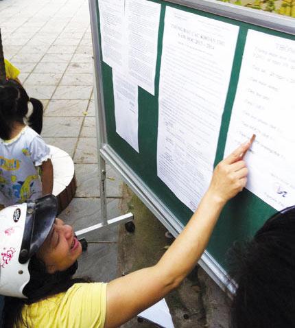 Từ 1/1/2016, các trường mầm non, phổ thông công lập ở Hà Nội sẽ tăng học phí.