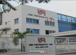Trụ sở của URC Việt Nam chủ của nhãn hàng nước giải khát trà xanh C2