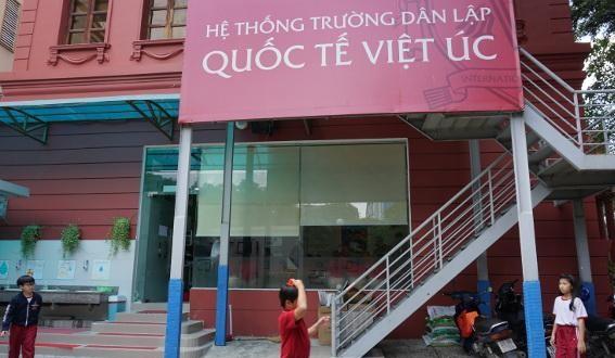 Trường Quốc tế Việt Úc, nơi giáo viên mắng học sinh lớp 1 ngu như bò. Ảnh tư liệu