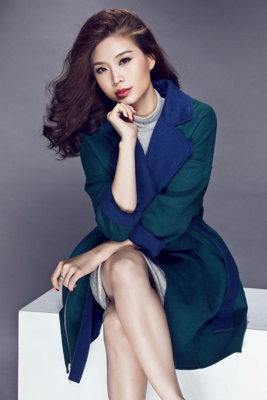 Á hậu Diễm Trang.