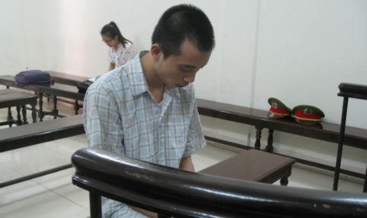 Bị cáo Tâm tại tòa