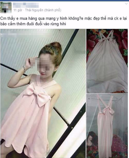 Cô nàng người mẫu mặc bộ đầm hồng dáng babydoll thật dễ thương