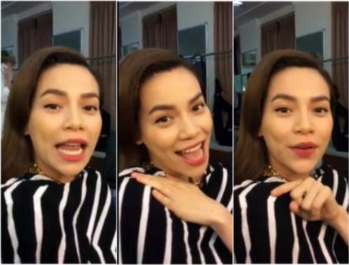 Rồi cô gây bão dư luận bằng 1 clip ngắn hát bằng tiếng Thái được bạn bè chia sẻ