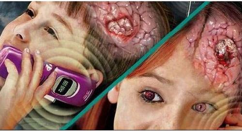 Sử dụng điện thoại quá mức có thể gây ung thư não (Ảnh minh họa)