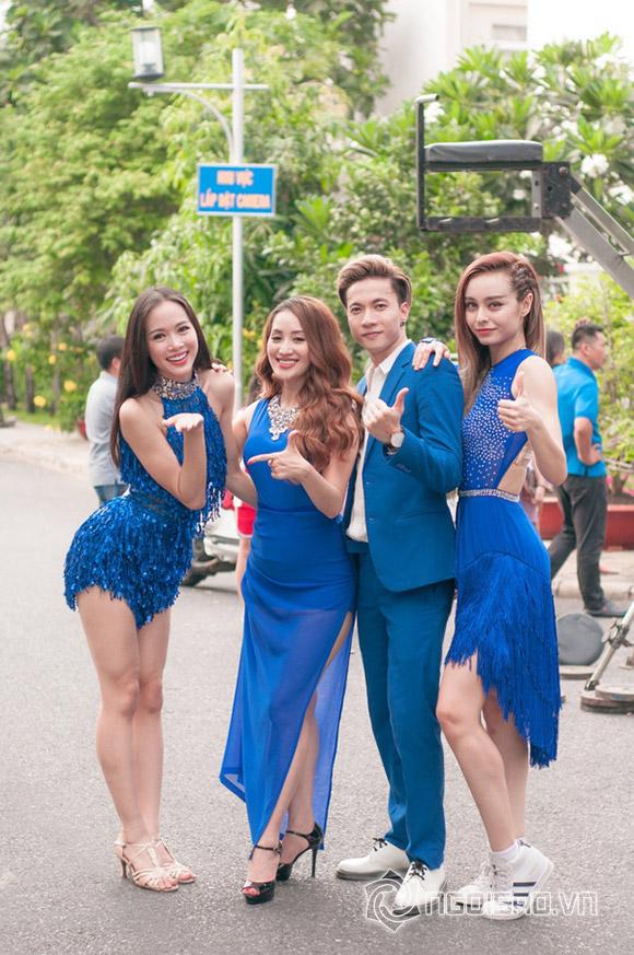 Khánh Thi và 3 học trò tại Bước nhảy hoàn vũ 2016.
