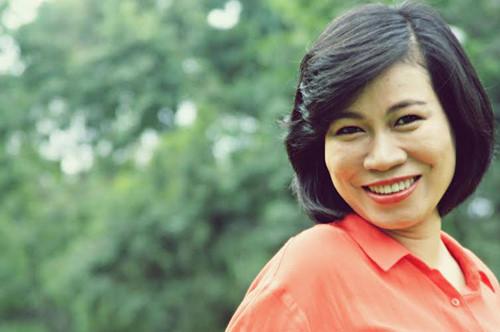 Nhà báo Thu Hà (mẹ Xu Sim)