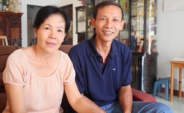 Bố mẹ của Mỹ Linh và Thanh Phong