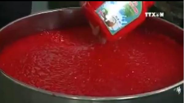 Hóa chất đỏ làm để chế tạo si rô.