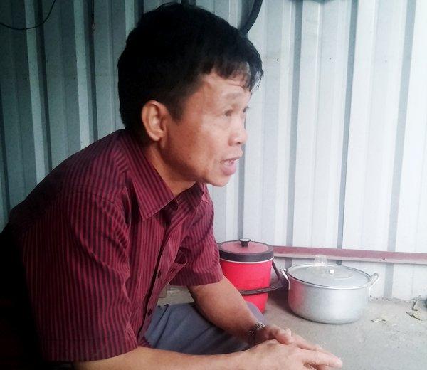 Anh Lê Hùng giọng đầy tự hào khi kể về em trai