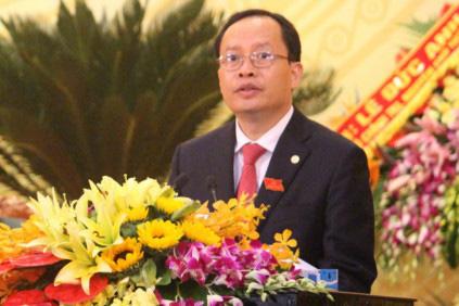 Ông Trịnh Văn Chiến - Ủy viên Trung ương Đảng, bí thư Tỉnh ủy vừa tái đắc cử chủ tịch HĐND tỉnh Thanh Hóa nhiệm kỳ 2016-2021 -