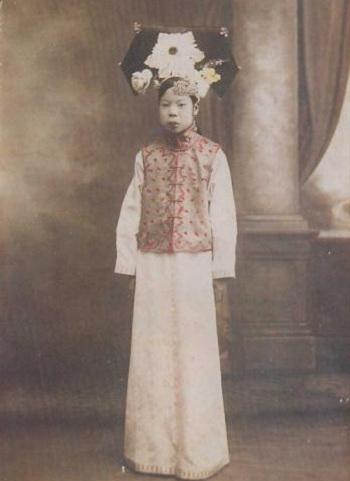 Hoàng phi Văn Tú. Ảnh: Baidu.