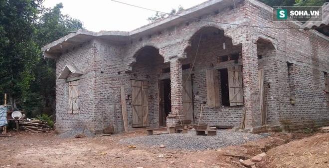 Căn nhà gia đình Bùi Văn Chinh sinh sống