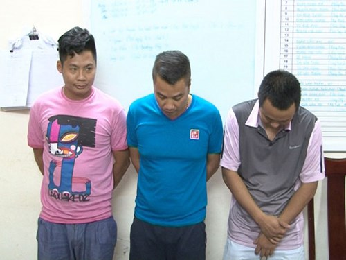 Một số đối tượng tham gia đường dây cá độ bóng đá bị bắt giữ