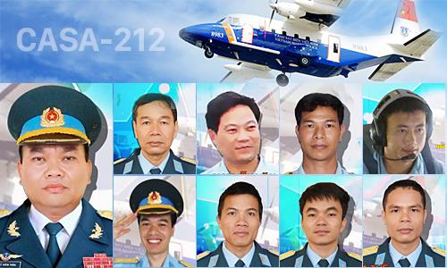 Tổ bay CASA 8983 hy sinh