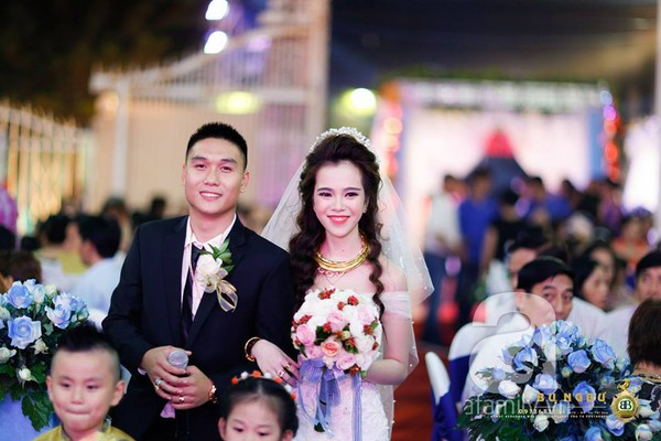 Quốc Dũng - Anh Thư trong ngày cưới