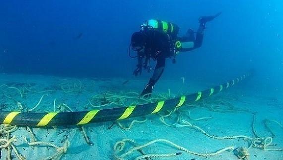 Thêm một tuyến cáp quang biển bị đứt và sửa chữa. Ảnh: SMC.