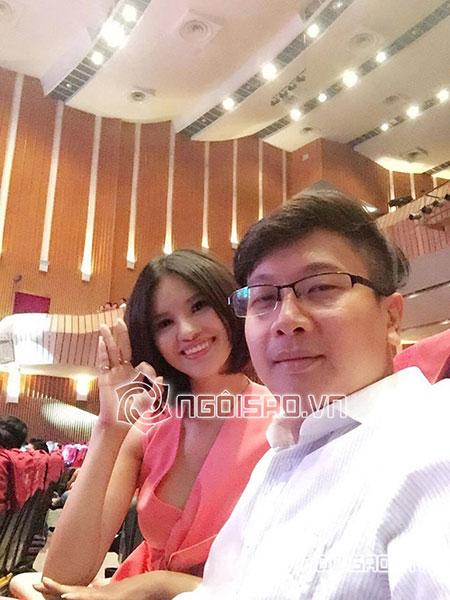 Hình ảnh hiếm hoi về chồng Lê Thị Phương.