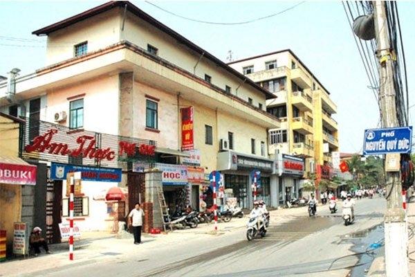 Phố Nguyễn Quý Đức, quận Thanh Xuân sẽ trở thành tuyến phố đi bộ đêm đầu tiên ở phía Tây Hà Nội (ảnh: Báo giao thông)