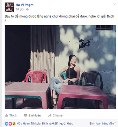 Hạ Vi lên tiếng sau khi Cường Đô la tái hợp vợ cũ?