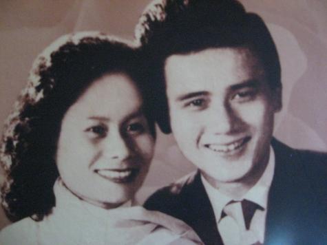 Nghệ sĩ Phạm Bằng và vợ thời trẻ