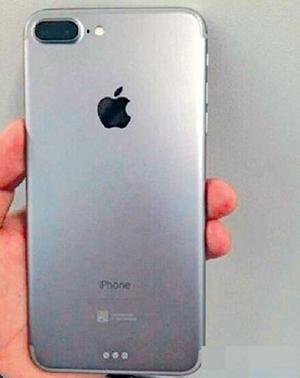 Ảnh được cho là iPhone 7 Plus với camera kép ở mặt sau.