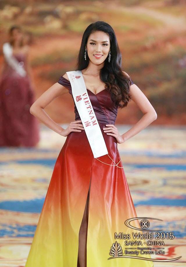 Trần Ngọc Lan Khuê đại diện cho Việt Nam tại cuộc thi Hoa hậu Thế giới