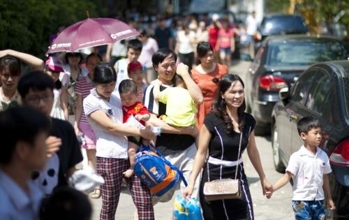 Khu vực Hà Nội có nắng nóng diện rộng với nhiệt độ cao nhất ngày phổ biến 36-37 độ trong ngày Quốc tế thiếu nhi 1/6 (Ảnh minh hoạ)