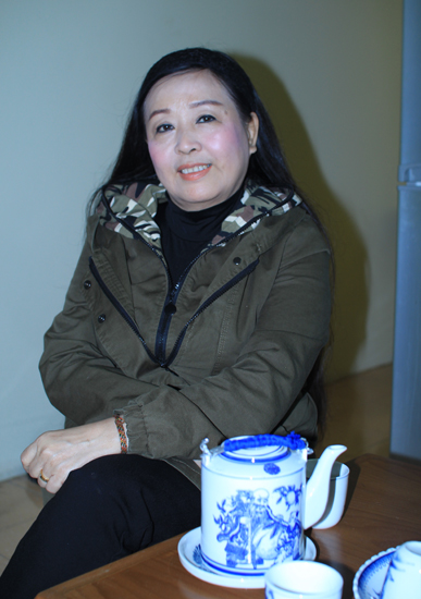 NSND Thu Hiền ở tuổi 64. Ảnh: Di Ca.