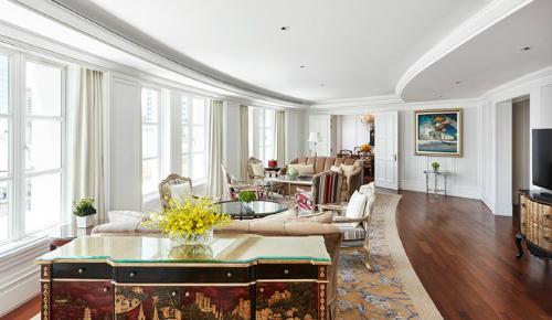 Phòng dành cho Tổng thống ở Park Hyatt rộng 192m2.