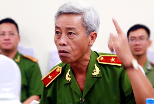 Thiếu tướng Phan Minh Anh: Đủ cơ sở khởi tố ông Tấn. Ảnh: Quốc Thắng