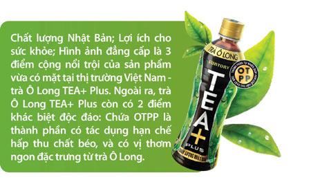 Trà Ô Long TEA PLus quảng cáo chất lượng Nhật Bản nhưng sự thực là nhập nguyên liệu từ Trung Quốc