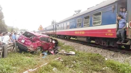 Hiện trường vụ tai nạn. Ảnh: Nguyễn Quang.