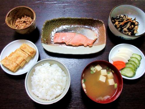Bữa sáng truyền thống của người Nhật. Ảnh: Wordpress.
