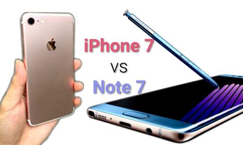 iPhone 7 và Galaxy Note 7 là dòng sản phẩm rất được chờ đợi nửa cuối 2016.