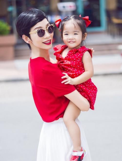 Xuân Lan cho biết, con gái là tài sản, tình yêu lớn nhất của cô.