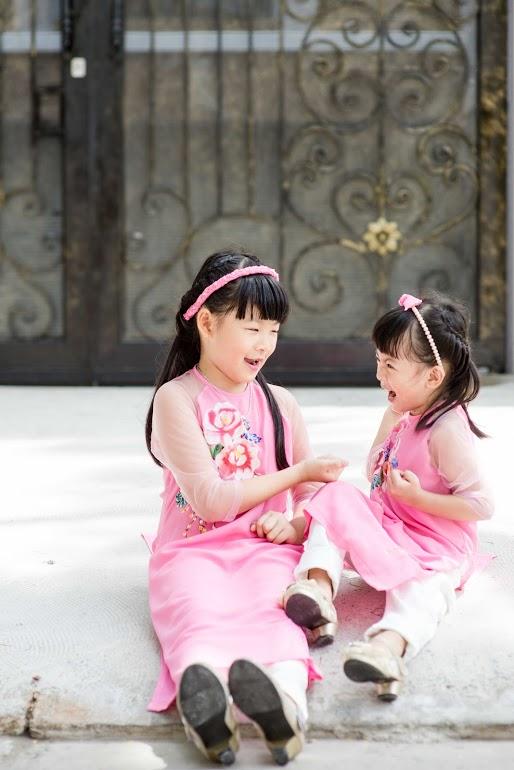 An Nhiên gần 7 tuổi còn An Như tròn 4 tuổi.