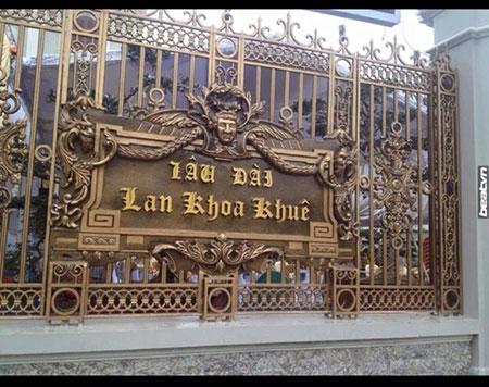 Thế này thì làm sao nhầm lẫn được nơi tổ chức đám cưới xa xỉ nhất Nam Định ngày hôm qua?