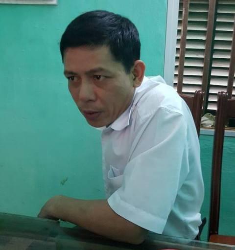 Ông Nguyễn Văn Bình, chủ tịch UBND xã Vĩnh Lợi. Ảnh: Cao Tuân