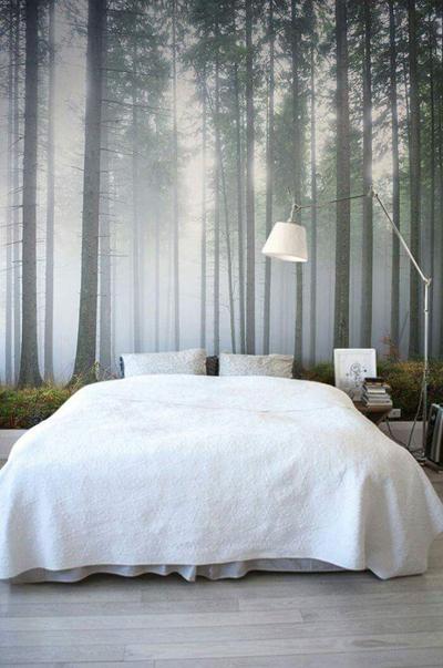 Nếu thích cảm giác bình yên, tĩnh lặng, bạn có thể chọn những khung cảnh có tông màu trầm.