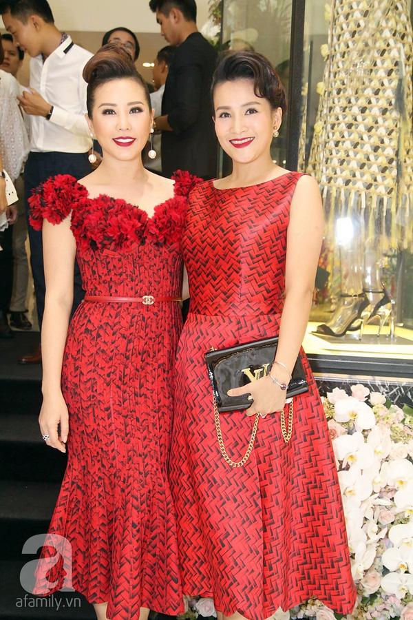 Hoa hậu Thu Hoài và Anh Thơ - bà xã Bình Minh